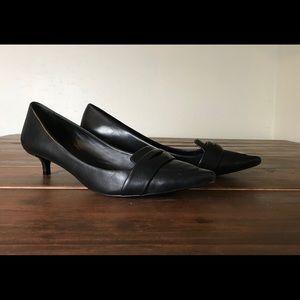 Tory Burch Bronson Kitten Heel loafer pump 8M